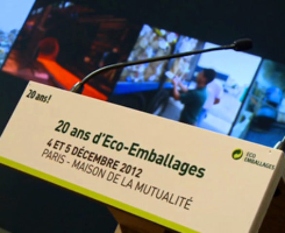 Eco-Emballages : 20 ans
