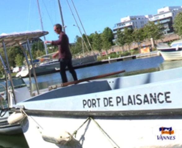 Vannes La capitainerie du port